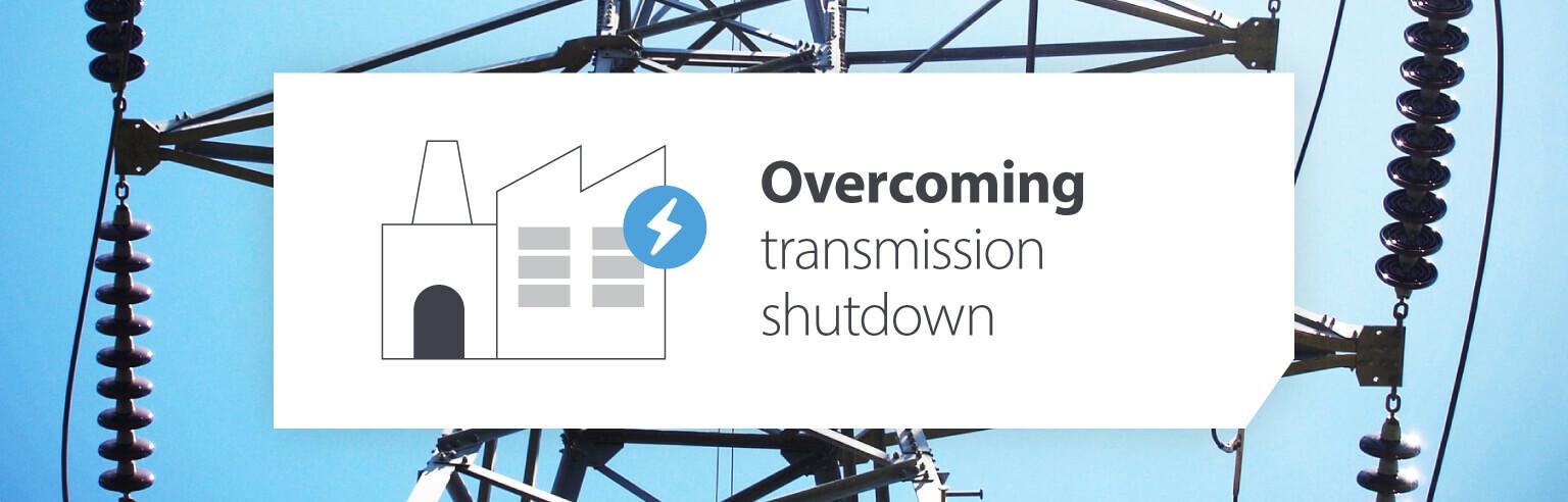 Overcoming transmission shutdown