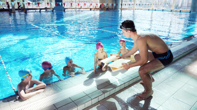 Calorex indoor swimming pool web
