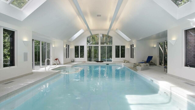 Why dehumidification is a top priority for your indoor swimming pool build