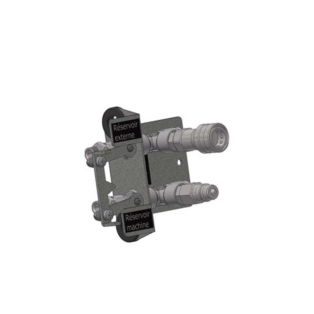Master Quick connector to flex pipes for separate tank 4240 580
